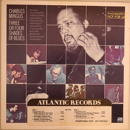 Charles Mingus / Three Or Four Shades Of Blue(プロモ)