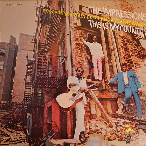 THE IMPRESSIONS / THIS IS MY COUNTRY  USオリジナル   N/MINT