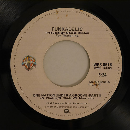 FUNKADELIC / ONE NATION UNDER A GROOVE    PART1&2