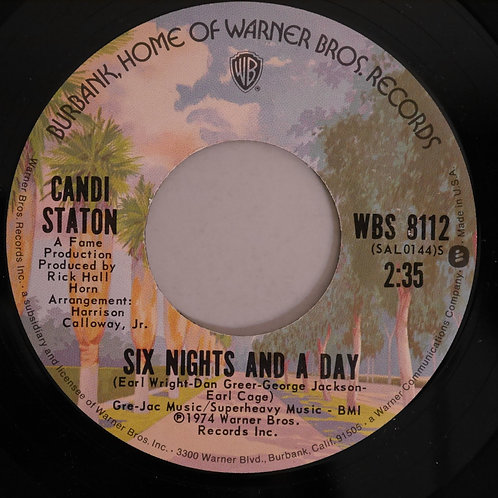 CANDI STATON /We Can Work It Out / Six Nights And A Day