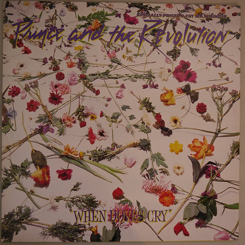 PRINCE  AND      THE REVOLUTION        /    WHEN DOVES CRY /  12inch