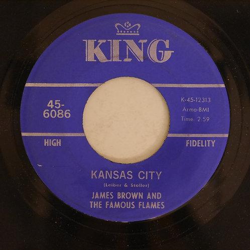 James Brown & The Famous Flames / STONE FOX / KANSAS CITY