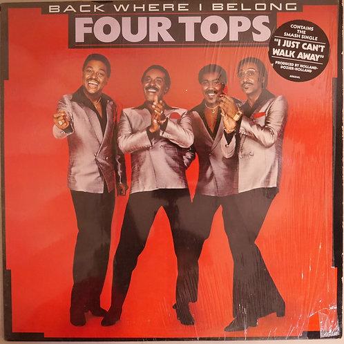 FOUR TOPS / BACK WHERE I BELONG