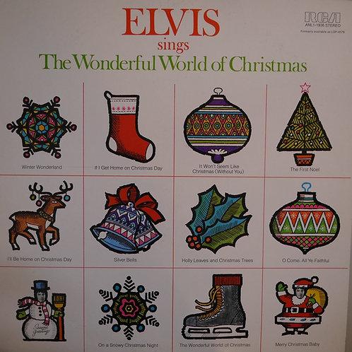 ELVIS PRESLEY /Elvis sings The Wonderful World of Christmas