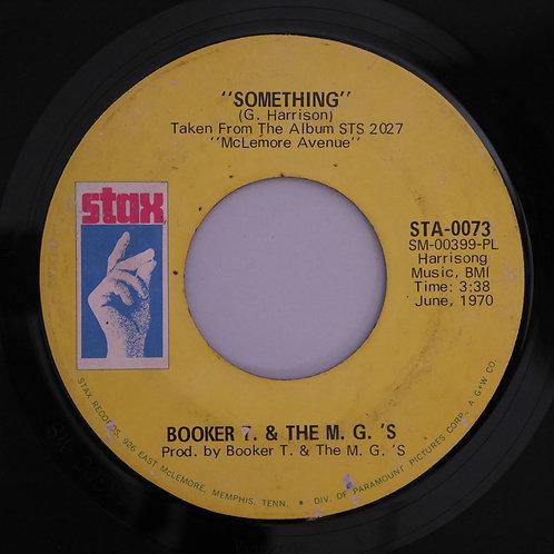 BOOKER T. & THE M.G.'S /Something / Sunday Sermon