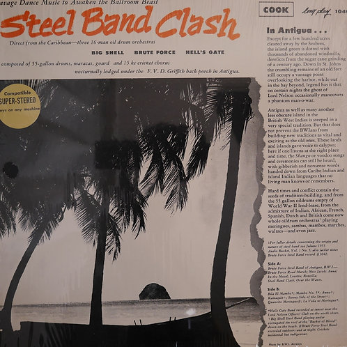 STEEL BAND CLASH / BIG SHELL / BRUTE FORCE / HELL'S GATE