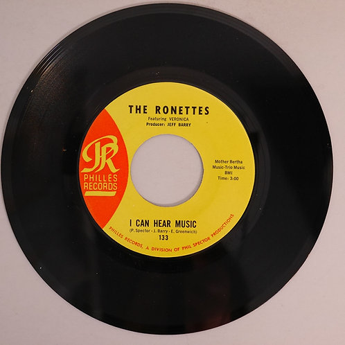 THE RONETTES ロネッツ  /I Can Hear Music(Philles-133)