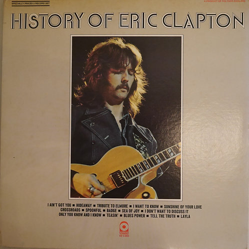 ERIC CLAPTON / History Of Eric Clapton