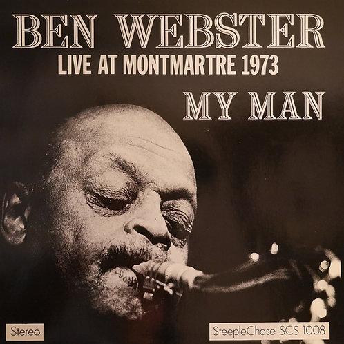 BEN WEBSTER / My Man - Live At Montmartre 1973
