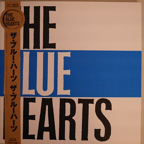 THE BLUE HEARTS/ 再発 (帯、フォト、ステンシル付き)