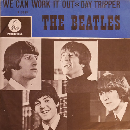 THE BEATLES / WE CAN WORK IT OUT / DAY TRIPPER 7' オランダ盤
