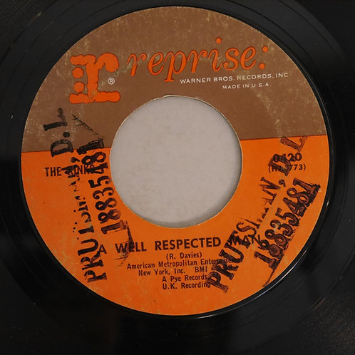 THE KINKS  / A WELL PRESPECTED MAN / SUCH A SHAME