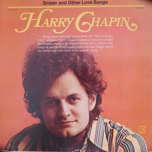 HARRY CHAPIN /SNIPER & OTHER LOVE SONGS