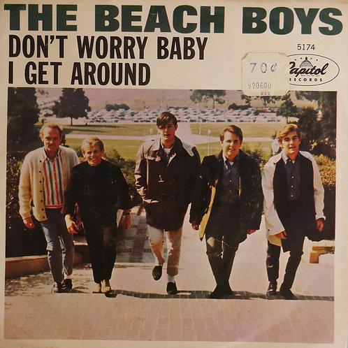 THE BEACH BOYS / Don't Worry Baby / I Get Around