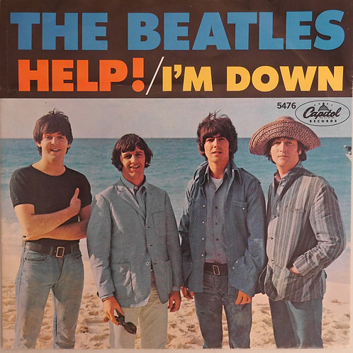 THE BEATLES / HELP! / I'M DOWN (PS付き7')
