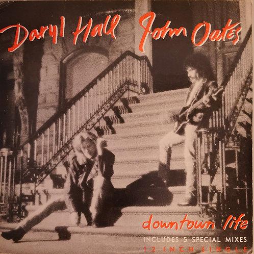 """Daryl Hall John Oates / Downtown Life 12""""-5MIXES"""