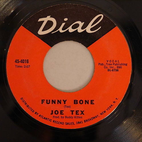 JOE TEX / I Want To (Do Everything For You) / Funny Bone