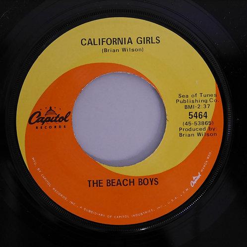 THE BEACH BOYS / California Girls / Let Him Run Wild