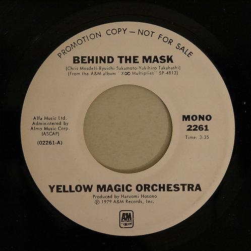YMO(イエロー・マジック・オーケストラ)/ BEHIND THE MASK(USプロモ白ラベSTEREO/MONO)
