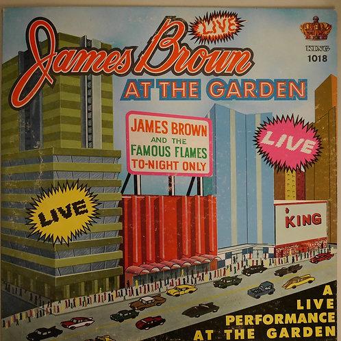 JAMES BROWN AT THE ORGAN  (ブラック/銀フォントラベル)