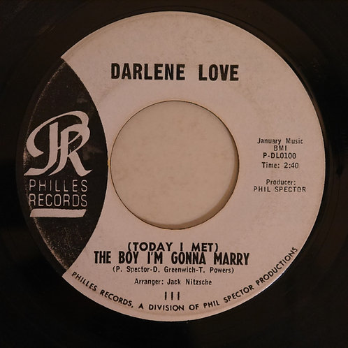 Darlene Love / (Today I Met) The Boy I'm Gonna Marry