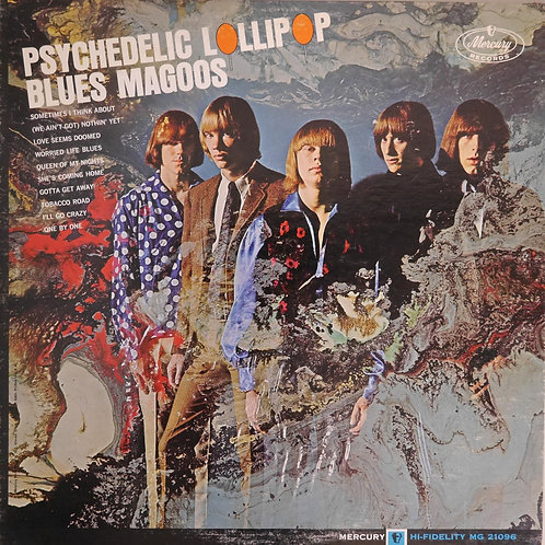 Blues Magoos ‎/ Psychedelic Lollipop(ORG/MONO)