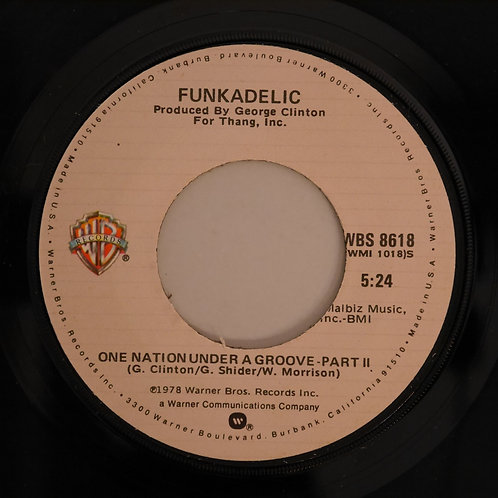 FUNKADELIC / One Nation Under A Groove P1&P2