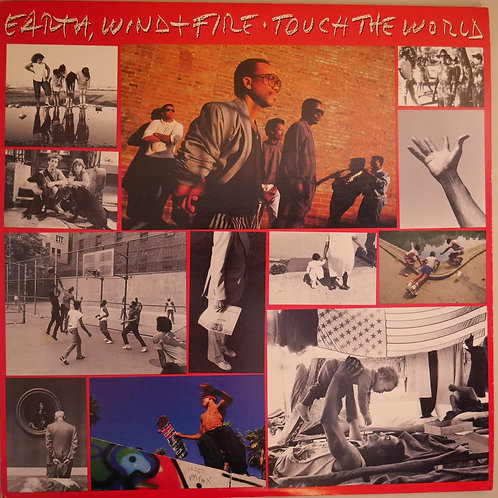 EARTH WIND & FIRE / TOUCH THE WORLD  US。オリジナル  美品