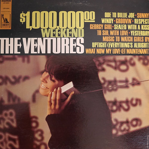 THE VENTURES / $1,000,000.00 Weekend
