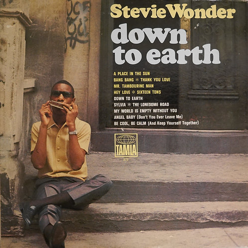 STEVIE WONDER / Down To Earth(US初期MONOプレス)