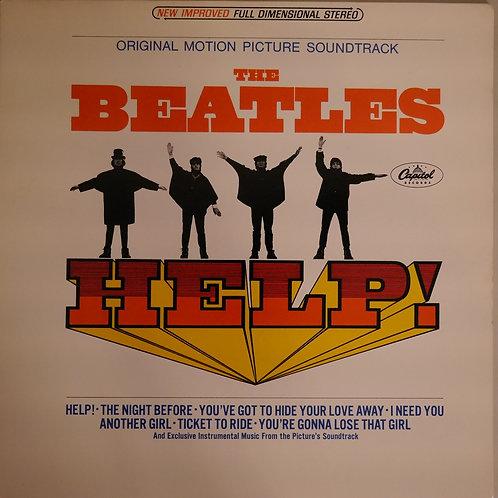 THE BEATLES / HELP (USマルーンラベル)