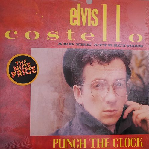 ELVIS COSTELLO & THE ATTRACTIONS /PUNCH THE CLOCK  N/MINT