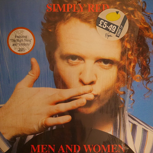 SIMPLY RED / MEN AND WOMEN (UK盤)