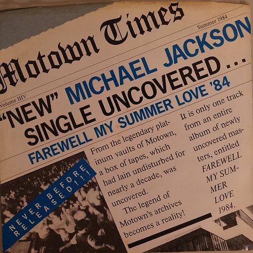 MICHAEL JACKSON / Farewell My Summer Love / Call On Me