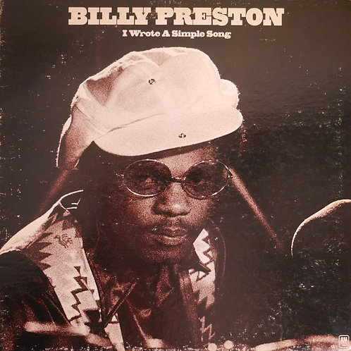 BILLY PRESTON / I WROTE A SIMPLE SONG