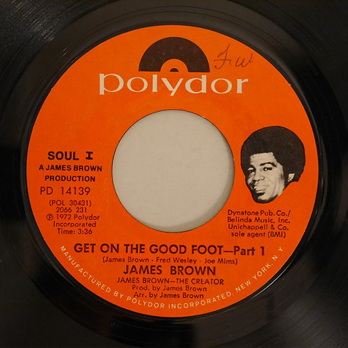 JAMES BROWN / GET ON THE GOOD FOOT PART1&2