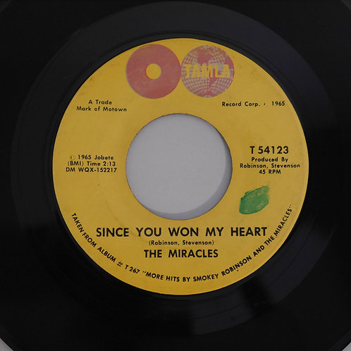 THE MIRACLES / My Girl Has Gone / Since You Won My Heart