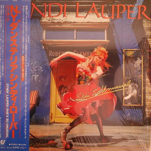 CYNDI LAUPER / N.Y.ダンステリア / SHE'S SO UNUSUAL