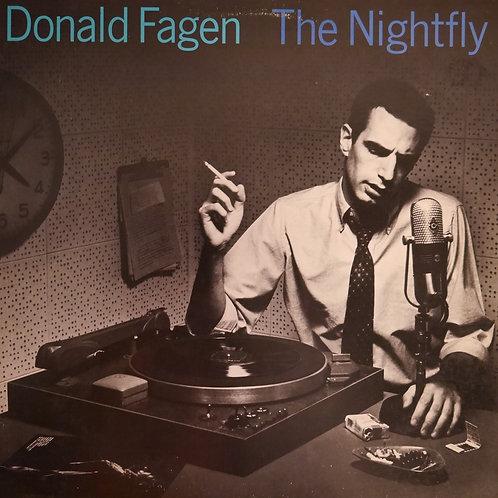 DONALD FAGEN / THE NIGHTFLY (2色ロゴ)US 初回プレス
