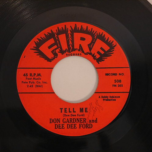 DON GARDNER & DEE DEE FORD /I NEED YOUR LOVING / TELL ME