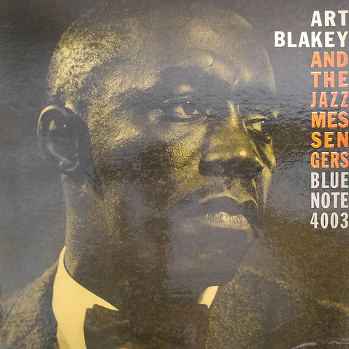 Art Blakey And The Jazz Messengers /Blue Note ‎BLP 4003貴重な初版プレス