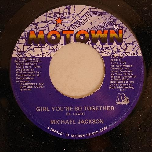 MICHAEL JACKSON / Girl You're So Together