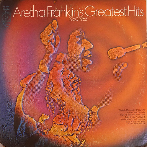 ARETHA FRANKLIN / Aretha Franklin's Greatest Hits 1960-1965