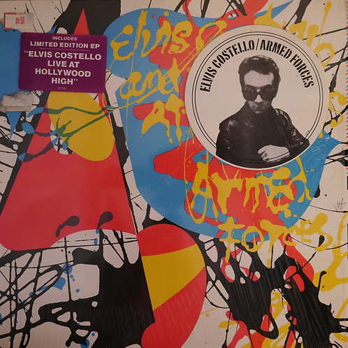 ELVIS COSTELLO & THE ATTRACTIONS / ARMED FORCES with(限定7'ALISON LIVE ver)
