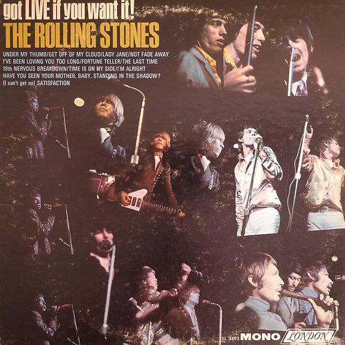 THE ROLLING STONES / Got Live If You Want It!(MONO/Maroon)