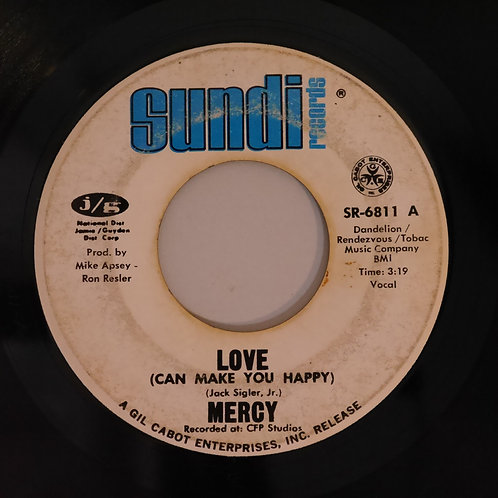 Mercy /Love (can Make You Happy) / Fire Ball