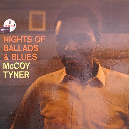 McCOY TYNER / NIGHTS OF BALLADS & BLUES(VAN GELDER刻印)