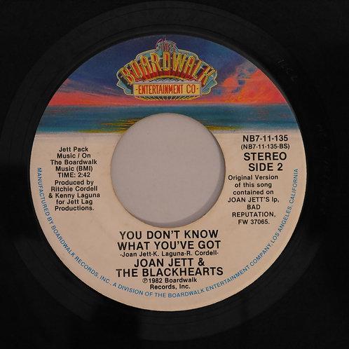 JOAN JETT & THE BLACKHEARTS / I Love Rock'n Roll
