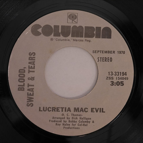 BLOOD. SWEAT & TEARS / LUCRETIA MAC EVIL :マック・エビル