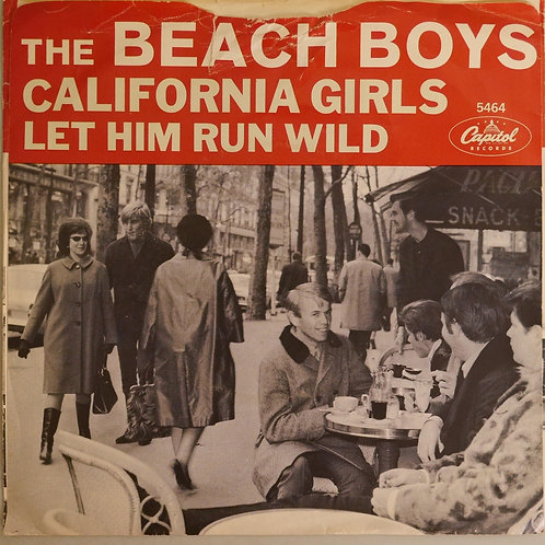 THE BEACH BOYS / California Girls / Let Him Run Wild
